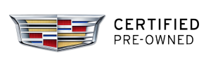 Cadillac Certified Pre-Owned badge