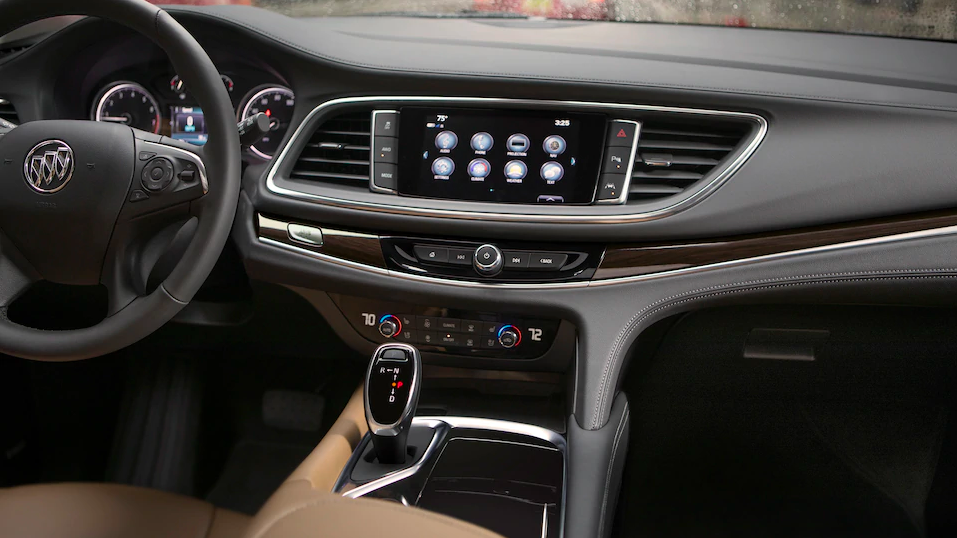 2019 Buick Enclave dashboard