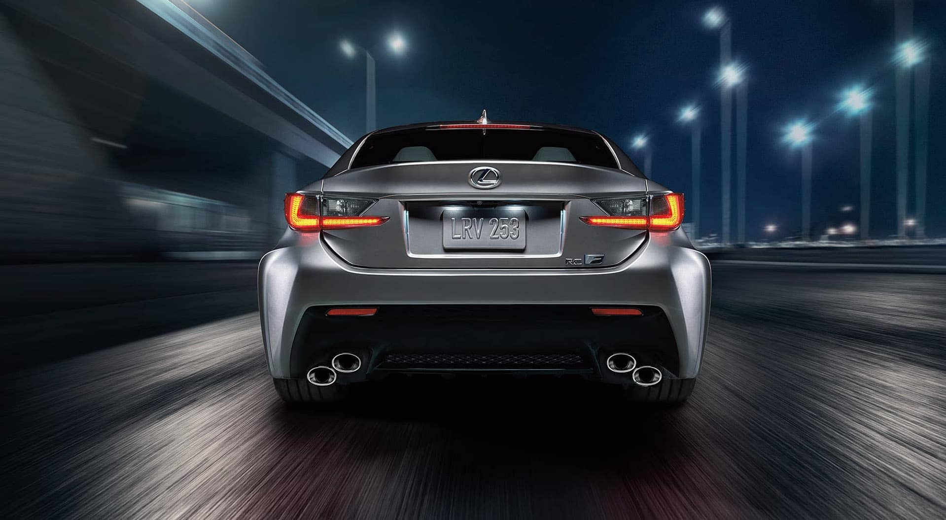 2018 Lexus rear