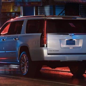 2019 Cadillac Escalade rear view