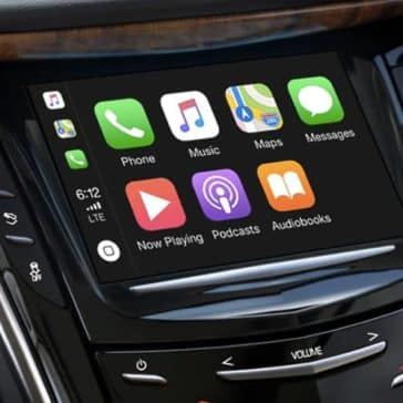 2019 Cadillac Escalade touch screen
