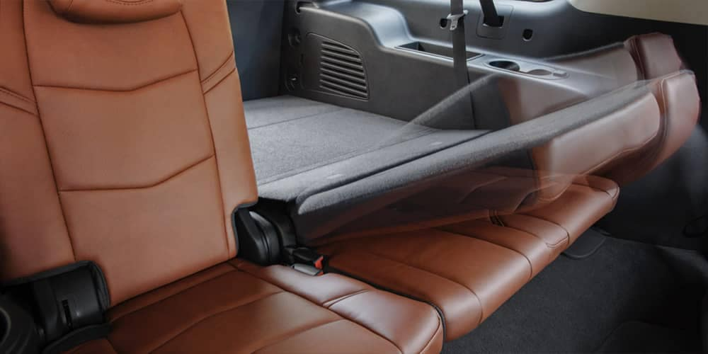 2019 Cadillac Escalade folding seats
