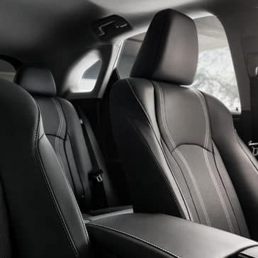 2019 Lexus RX Seating