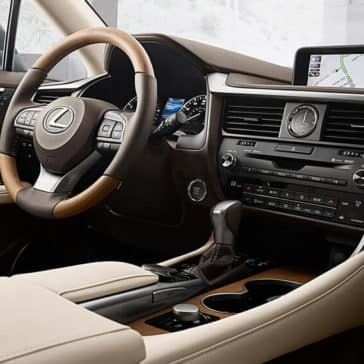 2019 Lexus RX Dash