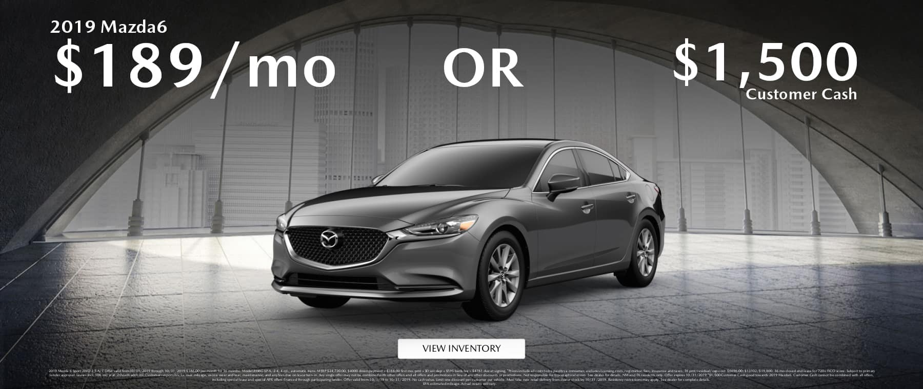 Mazda6 Lease Offer