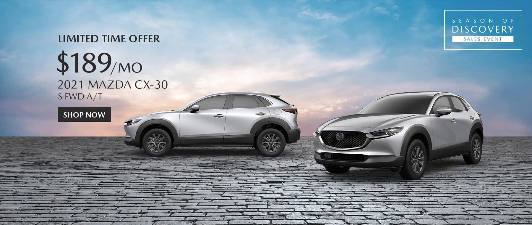 2021 Mazda CX30 Special