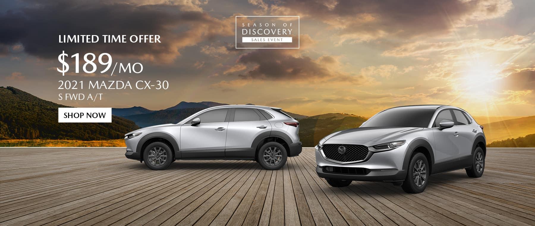 2021 Mazda CX-30 Special Offer