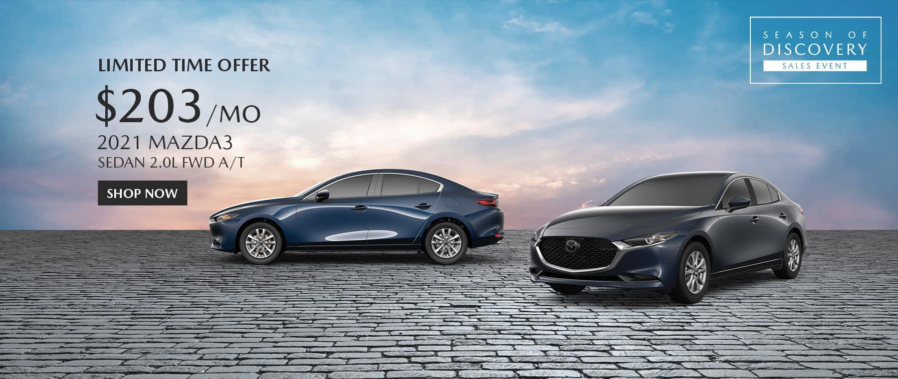 2021 Mazda 3 Special