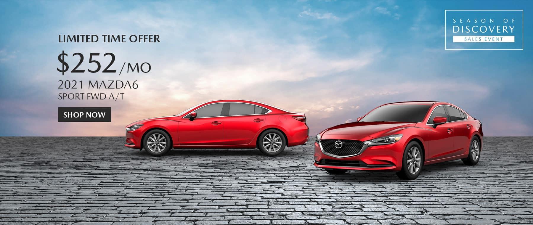 2021 Mazda 6 Special