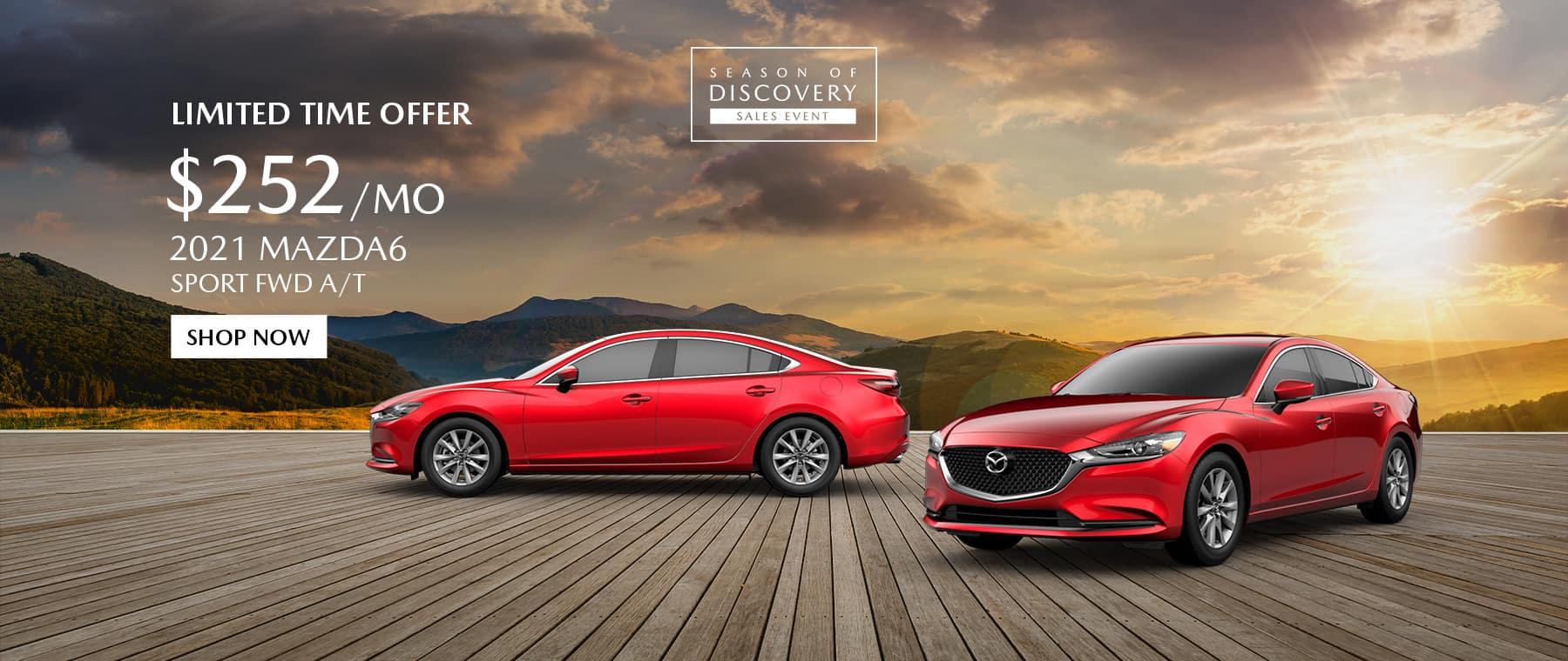 2021 Mazda 6 Special Offer