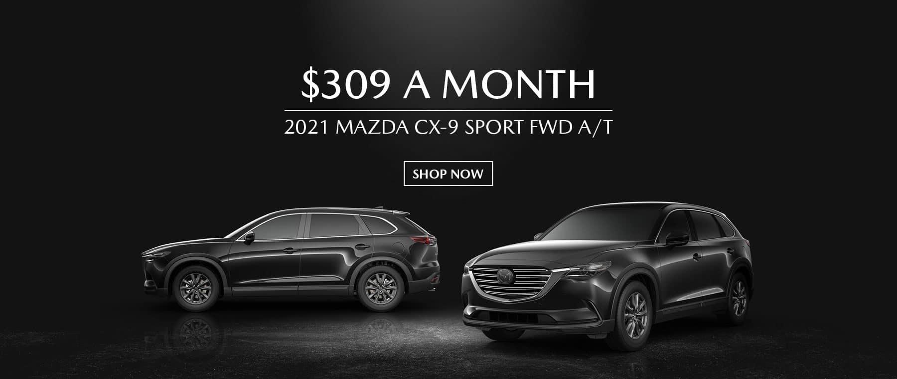 2021 Mazda CX9 Special