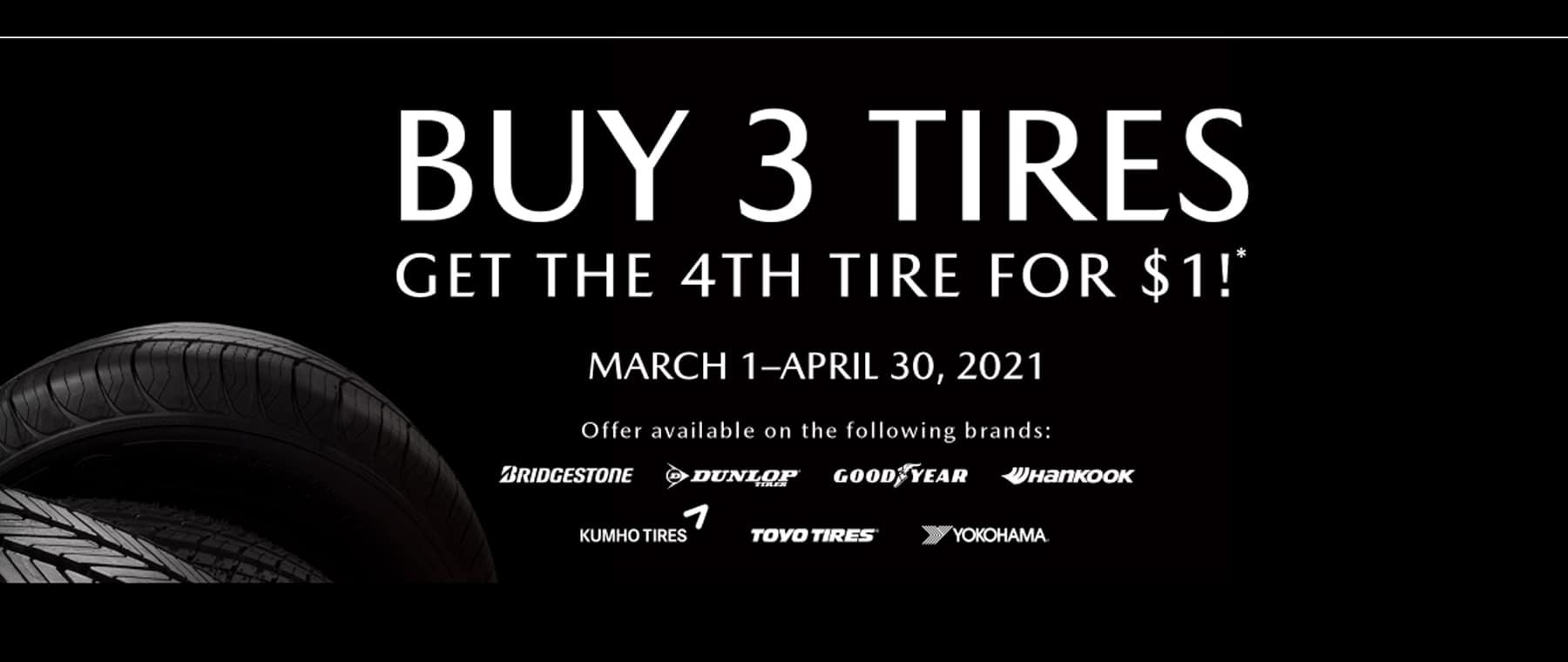 Mazda Tires 3 for 1 desktop