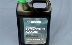 Mazda Coolant
