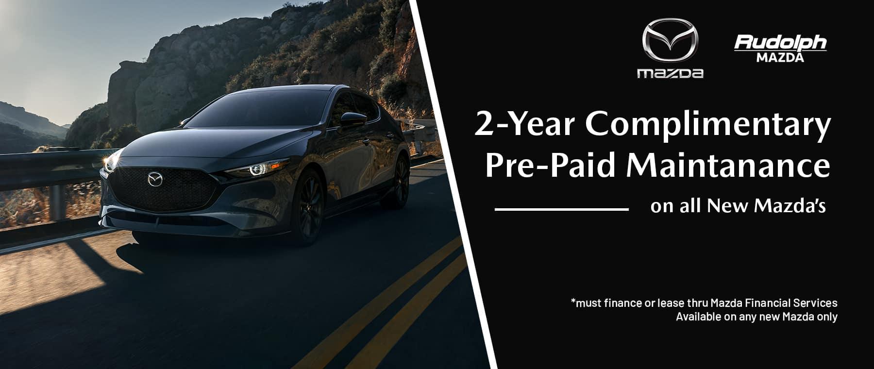 Mazda Pre Paid Maintanace