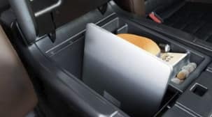 DEEP CENTER CONSOLE WITH LAPTOP STORAGE