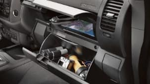 DUAL GLOVE COMPARTMENT
