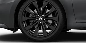 "19"" GLOSS-BLACK ALUMINUM-ALLOY WHEELS"