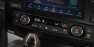 DUAL-ZONE AUTOMATIC TEMPERATURE CONTROL