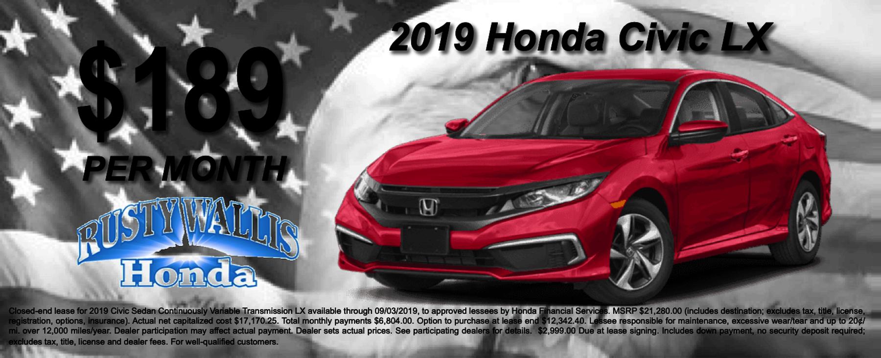 Honda Dealership Dallas Tx >> Rusty Wallis Honda Honda Dealer In Dallas Tx