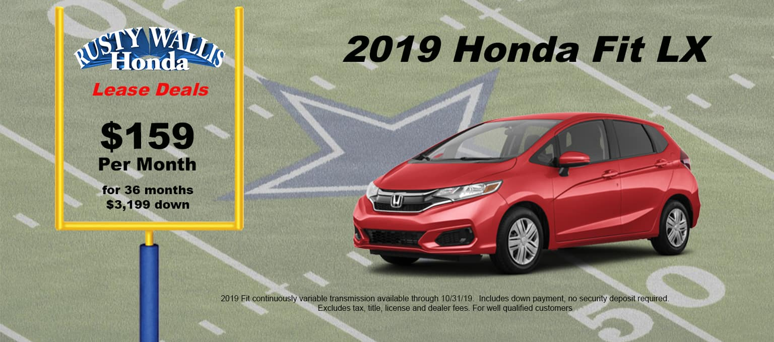 Honda Fit Lease Deals