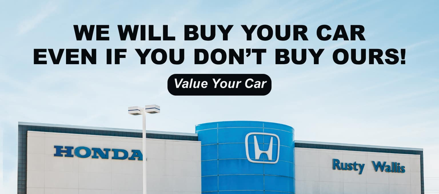 Honda We Will Buy Your Car