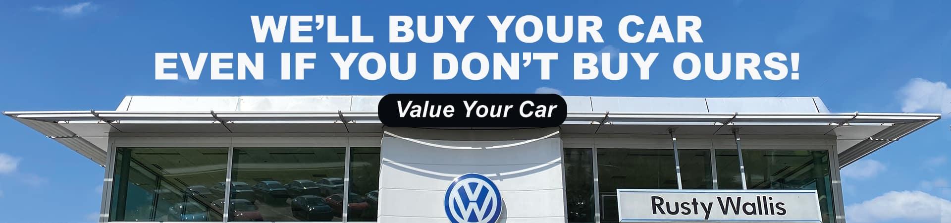 Volkswagen We Will Buy Your Car
