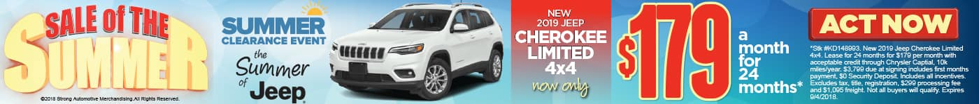 Jeep Cherokee Offer