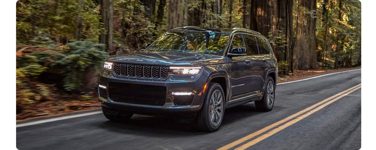 Safety Features 2021 Jeep Grand Cherokee L available in Salisbury MD