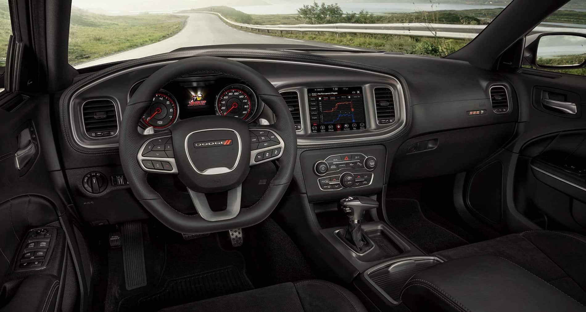 2021 Dodge Charger interior available in Salisbury MD
