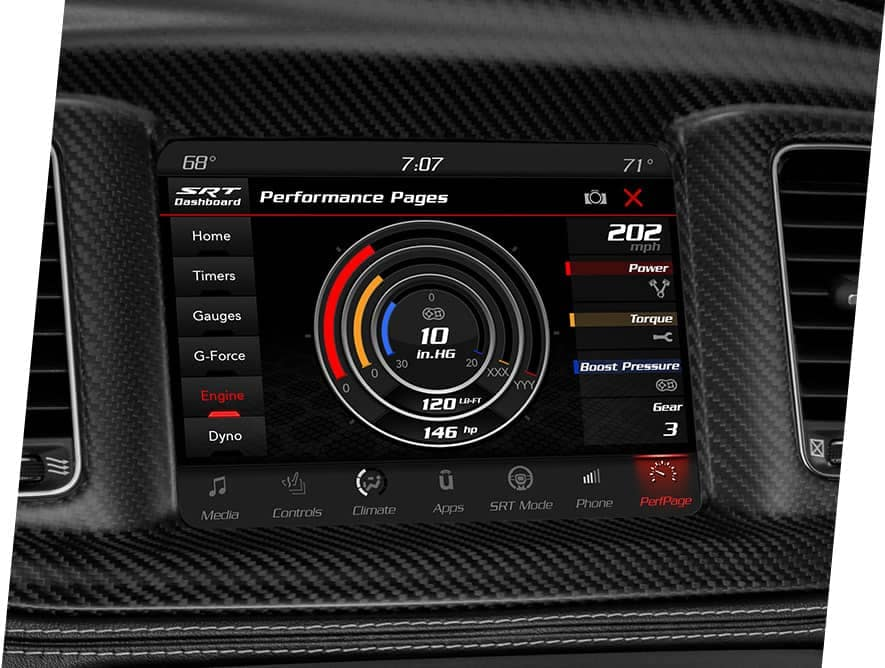 2021 dodge charger performance pages