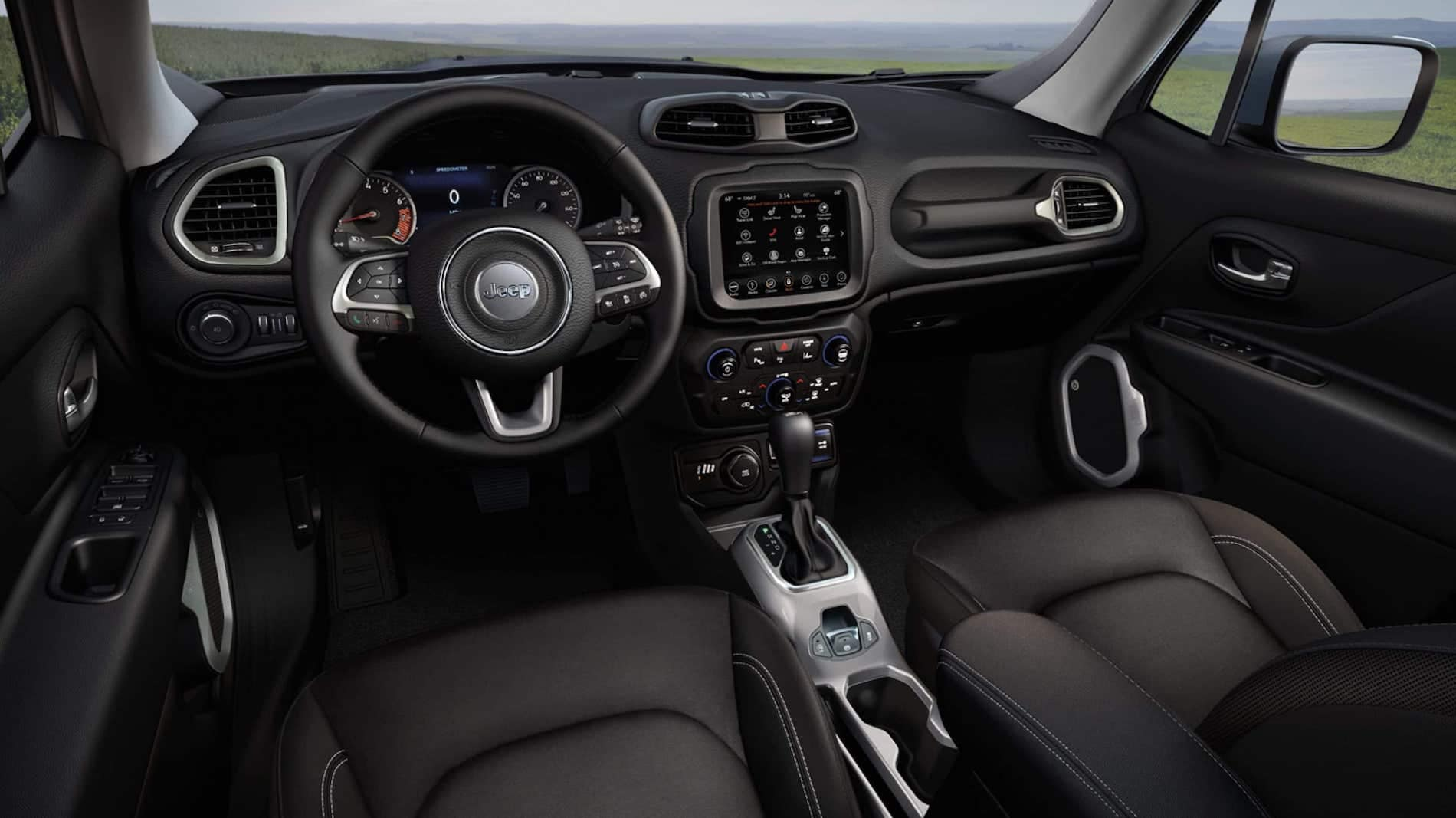 2021 jeep renegade infotainment system available in Salisbury MD
