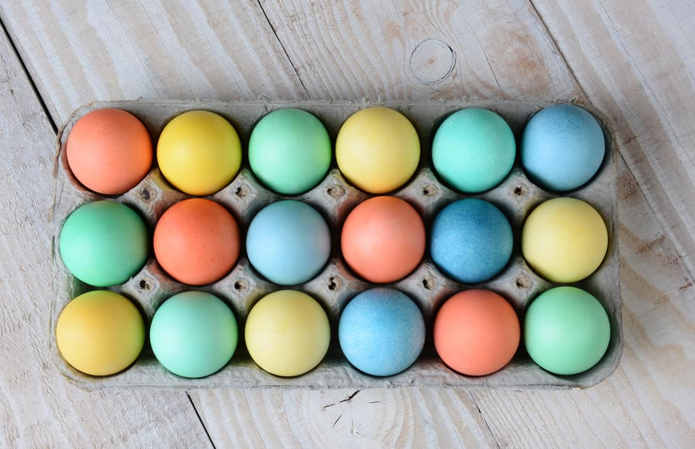 easy ways to dye easter eggs