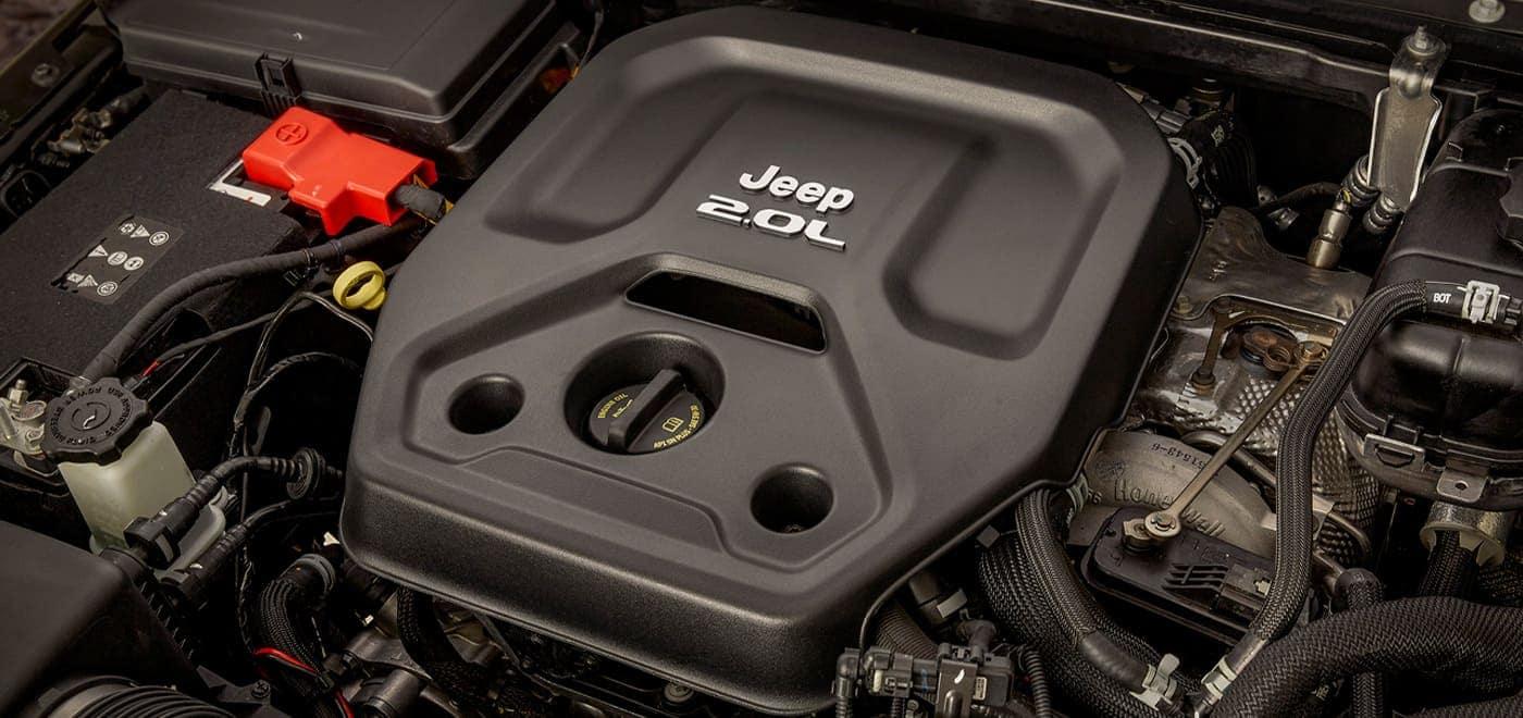 2021 Jeep Wrangler 4xe engine