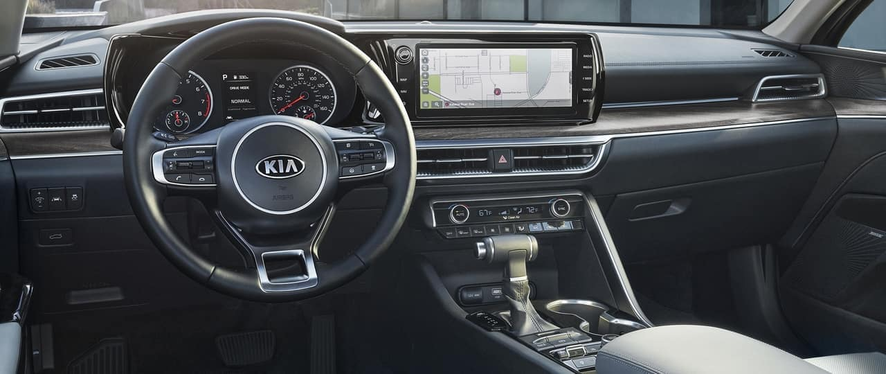 Stylish Controls of a Kia K5