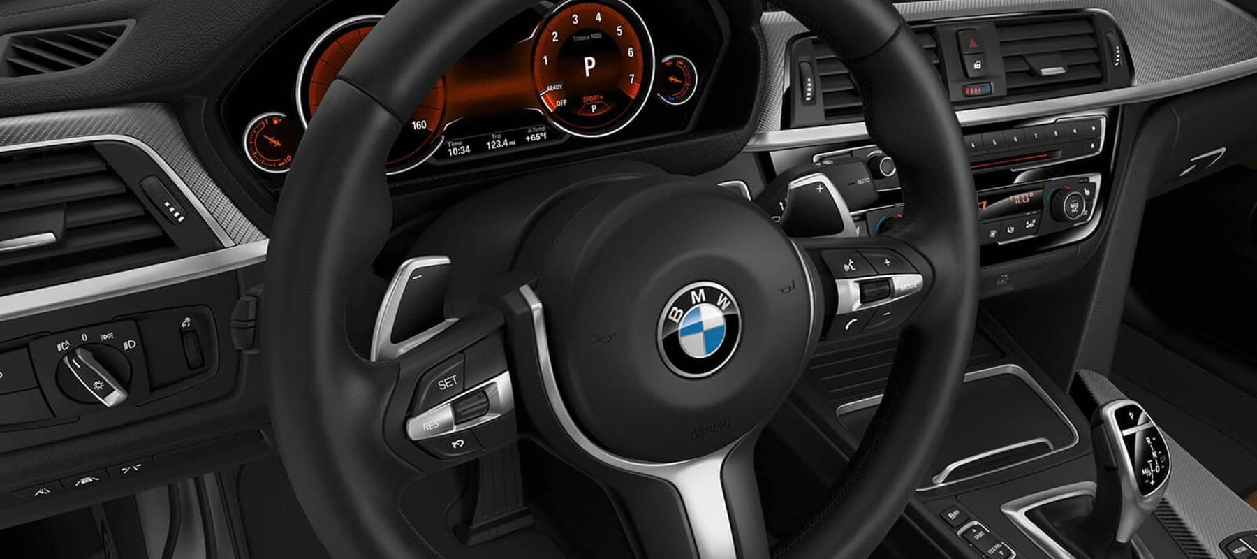 2019 BMW 4 Series Steering Wheel Background