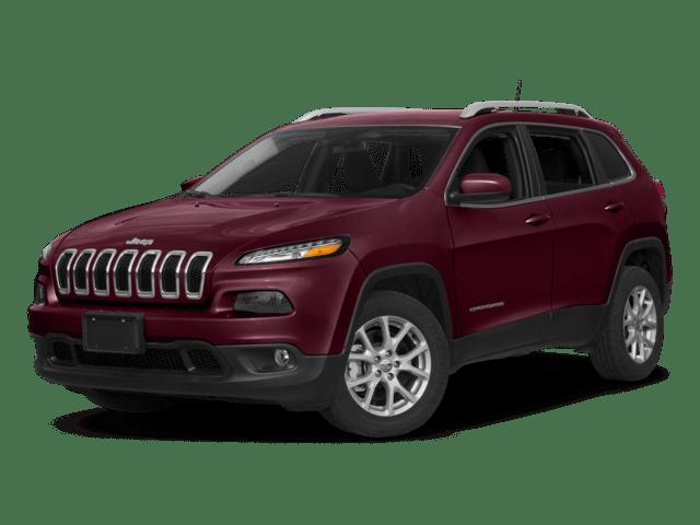 2018 Jeep Cherokee Angled