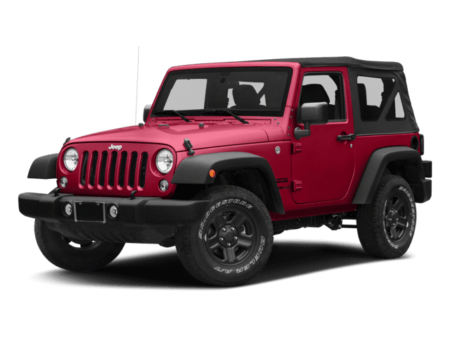 2018 Jeep Wrangler 2 Door Angled