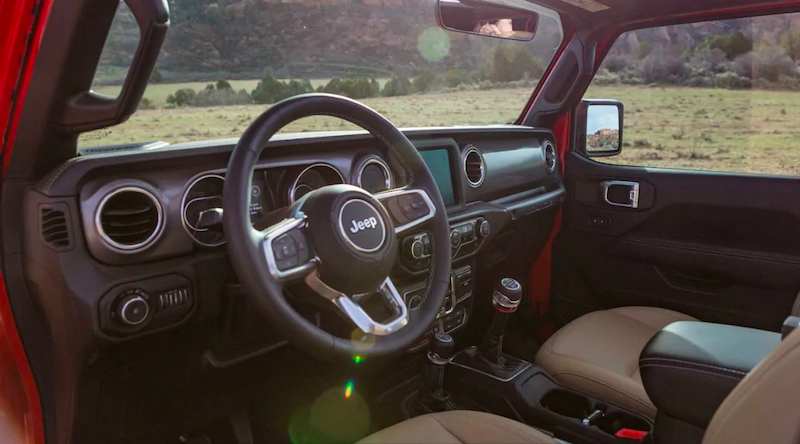 2019 Jeep Wrangler Interior Colors