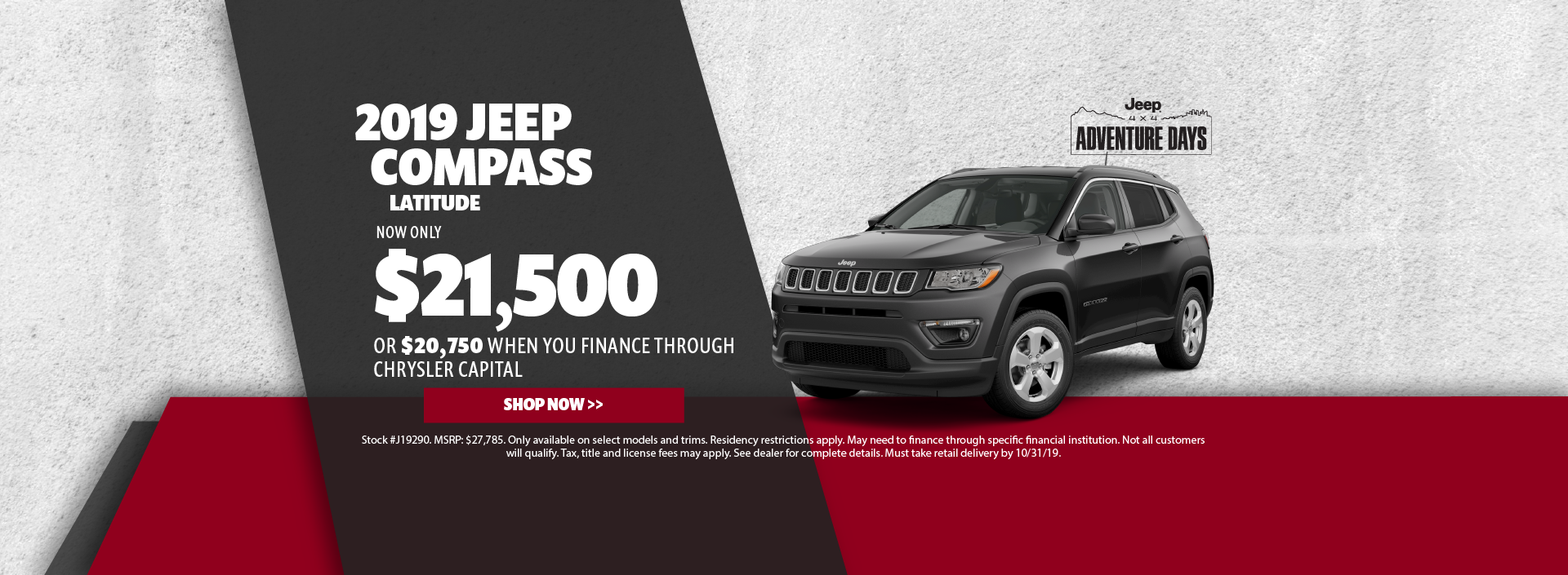 2019 Jeep Compass Offer