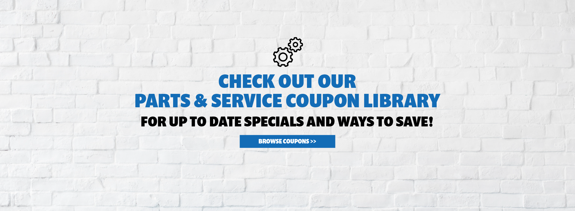 Check Out Mopar Coupon Library for Ways to Save!