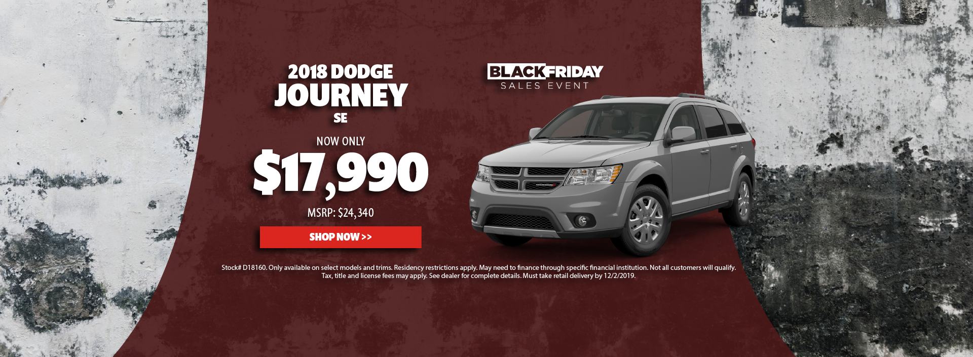 2018 Dodge Journey Offer