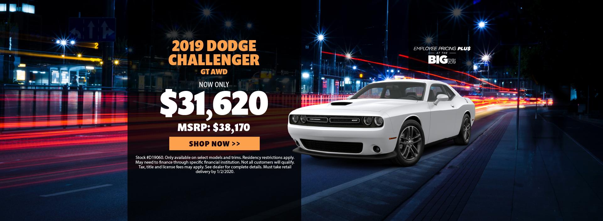 2019 Dodge Challenger Offer
