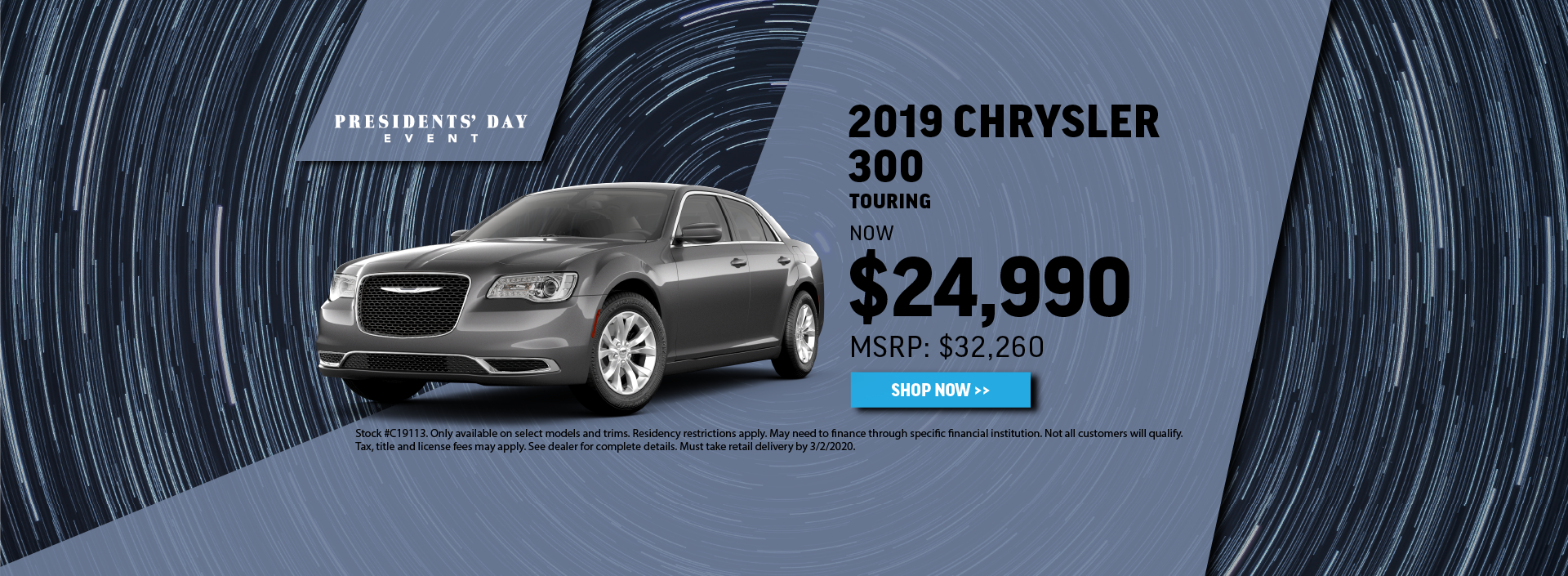 2019 Chrysler 300 Offer