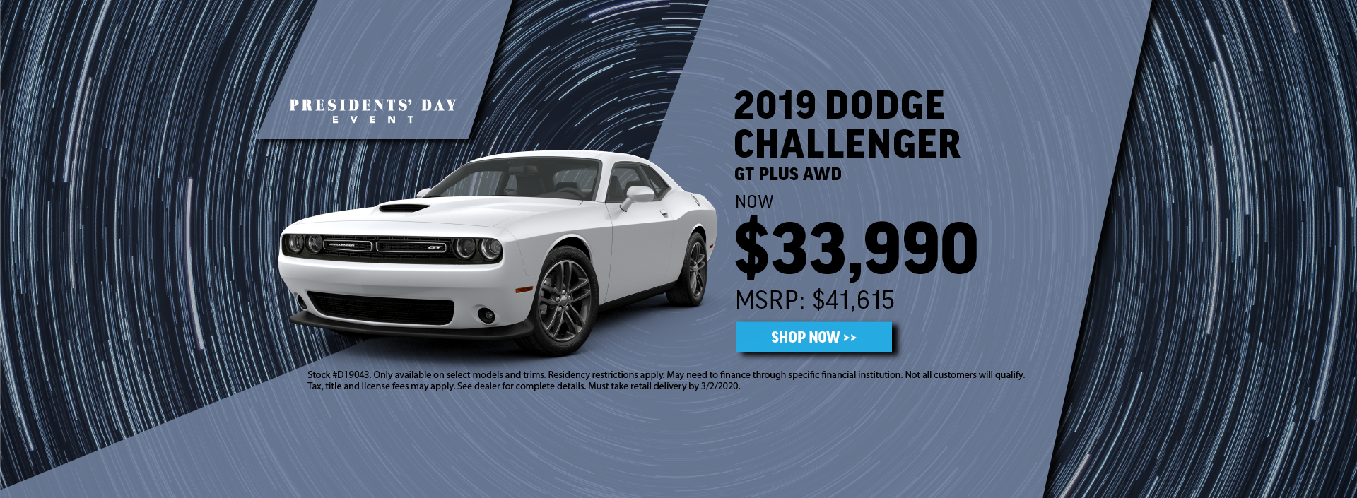 2019 Dodge Challenger Offer