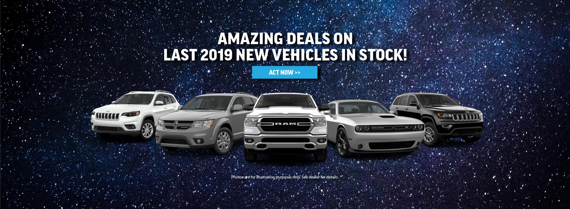 Amazing Deals on 2019 New Vehicles in Bloomington, IL