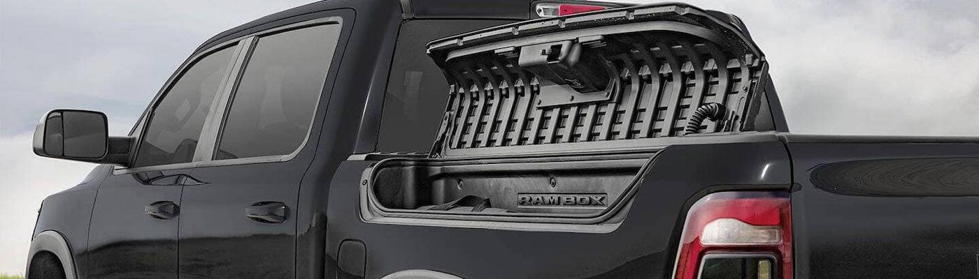 2020 RAM 1500 with RAMBOX Open