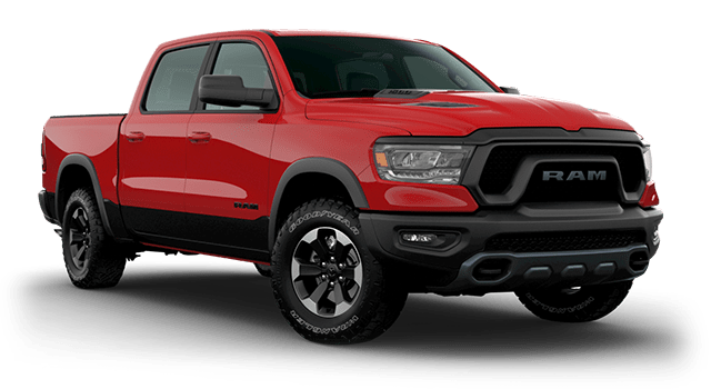 2020 Ram 1500 Rebel trim