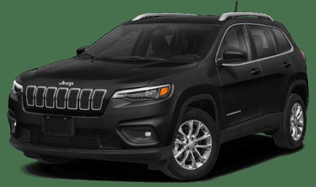 Black 2020 Jeep Cherokee
