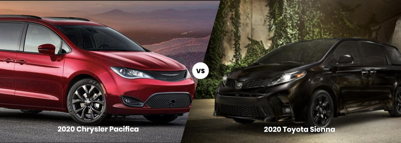 Chrysler Pacifica vs. Toyota Sienna