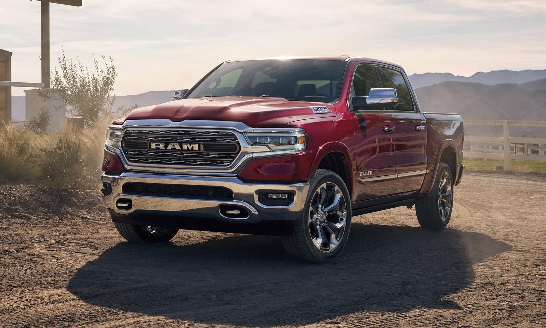 2019 Ram 1500 in desert